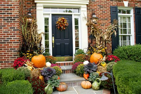 fall front door decorations fall decorating ideas archives lombardo homes