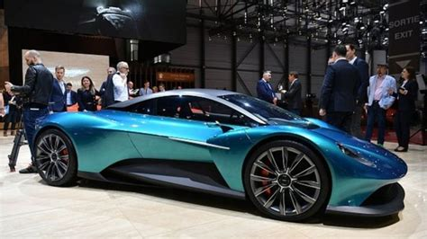 2019 Aston Martin Vanquish Vision, At The Geneva Motor