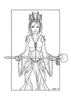 361 Best Witch coloring images in 2020 | Coloring pages