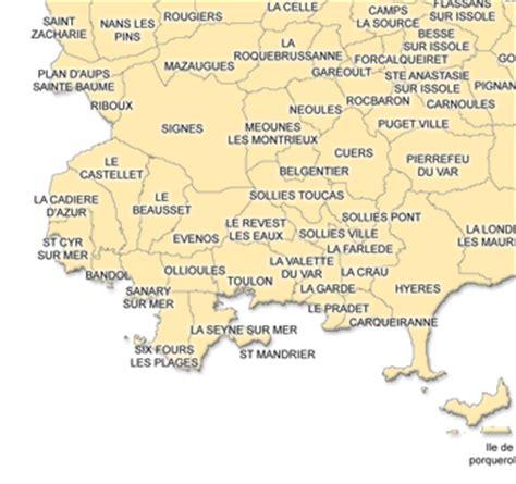 Carte Du Var Avec Toutes Les Villes by Carte D 233 Taill 233 E Sirop Vital Var 83 Carte Cure Vitale