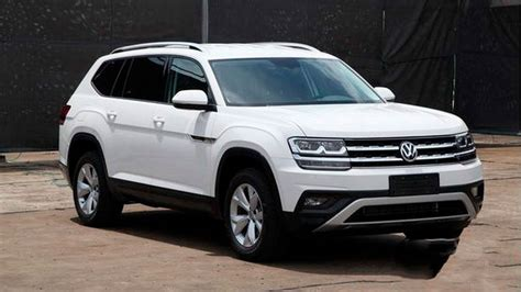 volkswagen atlas white seven seater volkswagen crossover will be called atlas