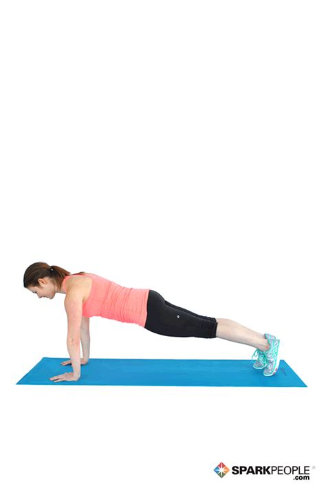 plank pictures plank exercise demonstration sparkpeople