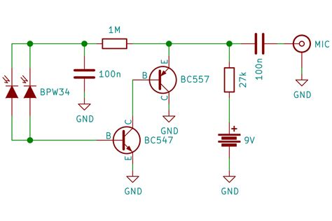photodiode light detector circuit 30th anniversary of the chernobyl tragedy or building
