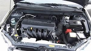 2006 Toyota Corolla  Phantom Gray Pearl - Stock  29567b - Engine