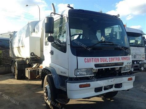 Garbage Disposal For Sale by 2005 Isuzu Fvy1400 Waste Disposal Qld For Sale Sb3803