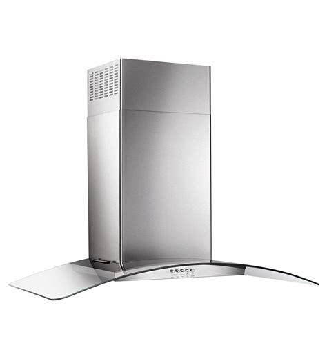 ventilation hotte cuisine wvw51uc6fs hotte de cuisine murale en verre concave