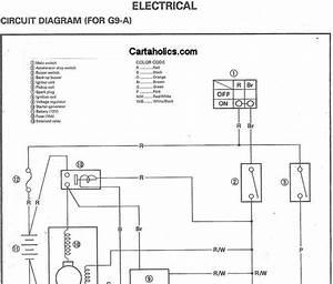 Wiring Diagram For Yamaha G9 Golf Cart