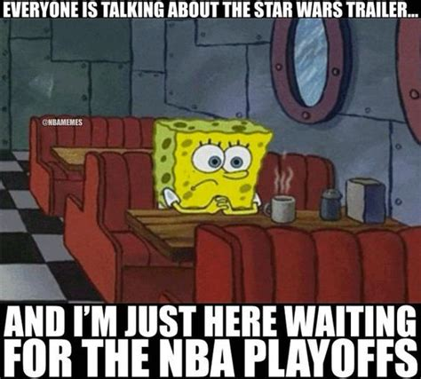 Spongebob War Memes - star wars trailer vs nba playoffs spongebob http nbafunnymeme com nba memes star wars