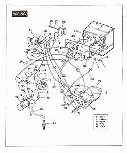 1984 Columbia Golf Cart Wiring Diagram