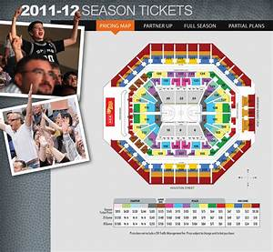2011 12 Season Tickets Arena Map The Official Site Of