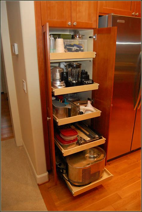 Pull Out Pantry Cabinet Dimensions  Home Design Ideas