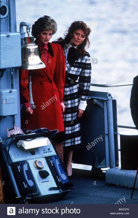 Princess Diana and Sarah Ferguson vist Prince Andrew ...