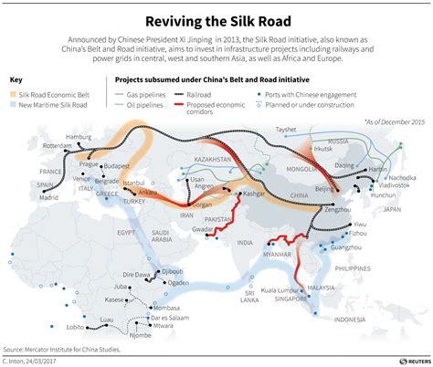 The trains and sea ports of One Belt, One Road, China's ...