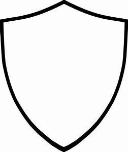Shield-white Clip Art at Clker.com - vector clip art ...