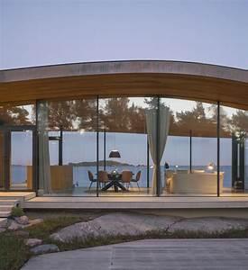 Glass House 2 : modern sea front summer glass house in finland idesignarch interior design architecture ~ Orissabook.com Haus und Dekorationen
