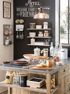1000 idees sur le theme cuisines sur pinterest zones de With charming couleur tendance deco salon 4 un salon vintage le blog deco de maisons du monde
