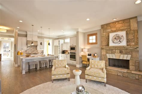 Open Concept Home Plans by How To Decorate Your Open Concept Floor Plan Brock Built