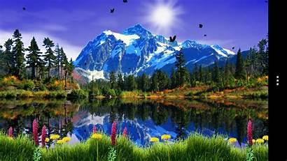Mountain Google Lake Spring Screensavers Wallpapers Views