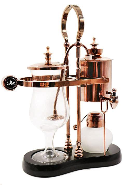 It is softer and velvety. Amazon.com: Diguo Belgian Luxury Royal Family Balance Belgium Syphon Coffee Maker Elegant Design ...
