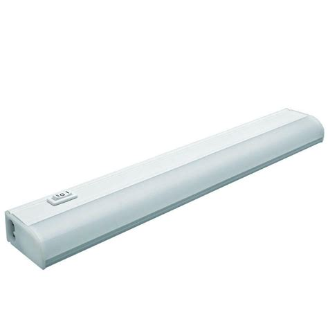 Commercial Electric Cabinet Lighting by Commercial Electric 18 In Soft White Led Cabinet
