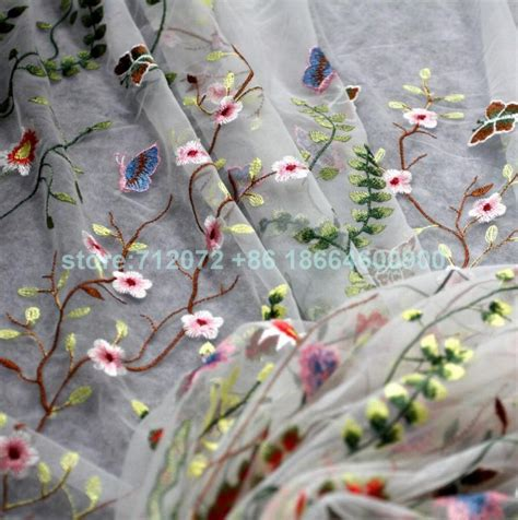 new mixed colors on netting embroidered evening bridal