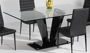 Small glass top dining table peenmediacom for Small rectangle glass dining table