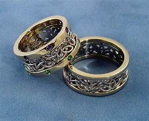 22 best images about wedding ring sets for him and her on With custom wedding rings for her