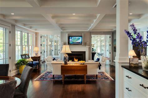 Hardwood Flooring Portland by Hills Beach Cottage Beach Style Living Room Portland