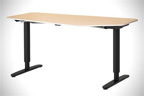 ikea sit and stand desk ikea bekant sit stand desks hiconsumption