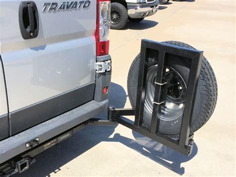 dodge promaster tire rack aluminess