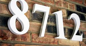 address numbers letters house number signs impact signs With exterior letters and numbers