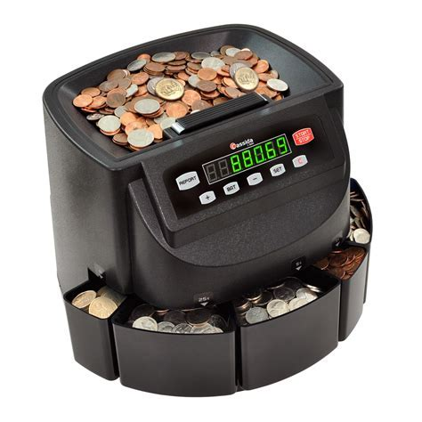 Cassida C200 Coin Counter/Sorter/Wrapper: Restaurant