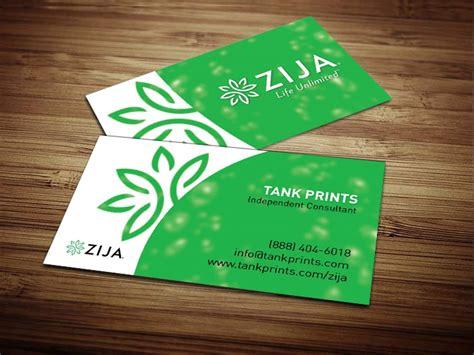 zija international business cards