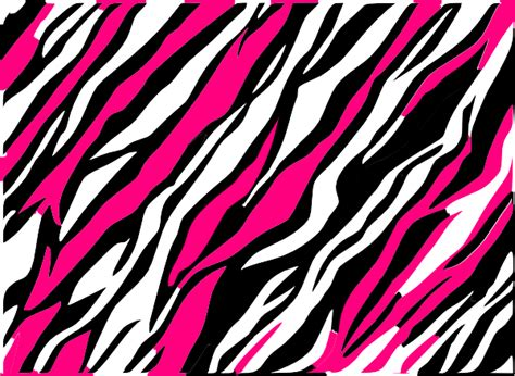 Pink And Black Animal Print Wallpaper - black and white zebra print background clip at clker