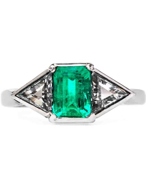 emerald engagement rings      kind bride