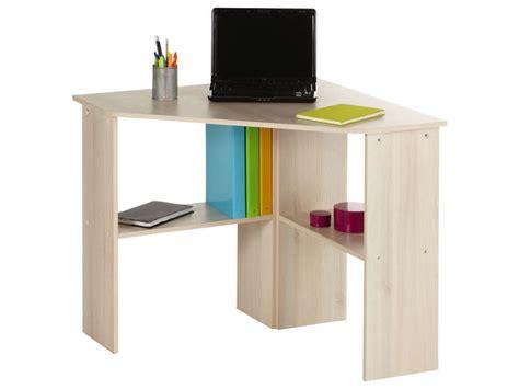 petit bureau d angle bureau informatique d 39 angle angus coloris acacia vente