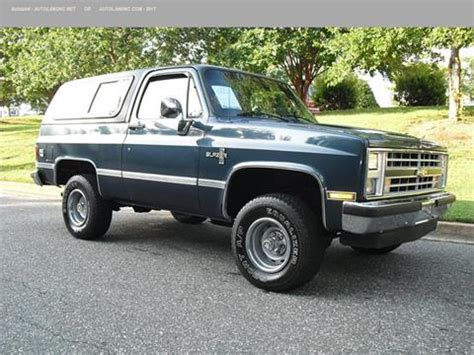 Chevrolet Blazer For Sale by 1988 Chevrolet Blazer For Sale Carsforsale 174