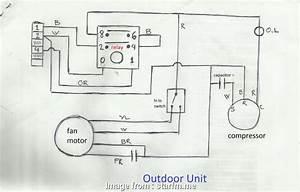 Electrical Wiring Diagram Of Split Ac Brilliant Ac System
