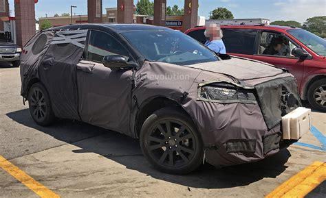 2019 Honda Acura 2 by Spyshots 2019 Acura Rdx Is Honda Cr V S Premium