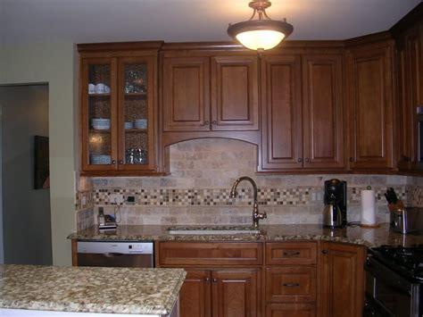 tile borders for kitchen backsplash travertine backsplash pictures and design ideas