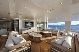 Yacht De Luxe Interieur : int rieur yacht de luxe en photos inspirations d co glamour pour surfaces limit es ~ Dallasstarsshop.com Idées de Décoration