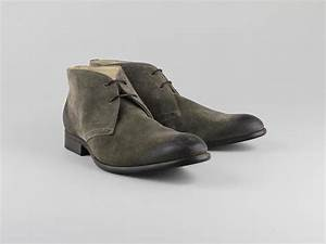 Chaussures Atelier Voisin / TANER / Montants Taupe Croute ...