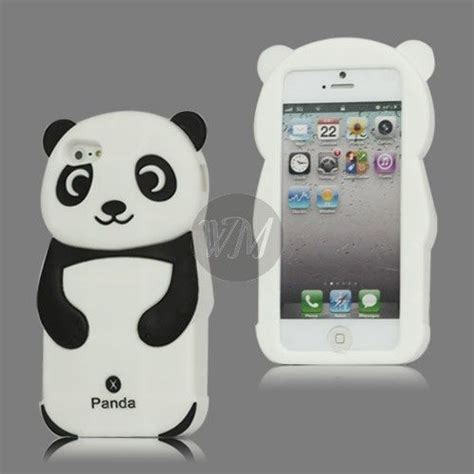husa iphone 5 lovely panda for smartphone