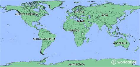 25+ Jordan Location On The World Map Pics - FreePix