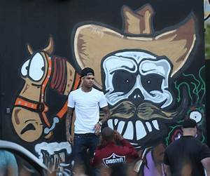 Chris Brown Paints Mural in Miami | ThisisRnB.com - New R ...