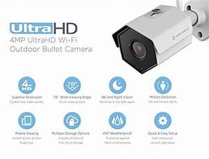 Amcrest 8ch 4mp Security Camera System W   4k Nvr   4  X 4