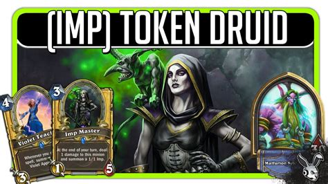 Druid Deck Hearthstone Legend by Hearthstone Imp Token Druid Legend Deck