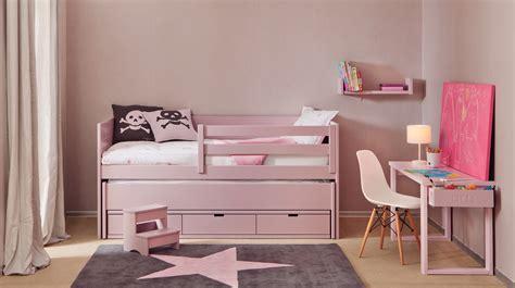 lit bureau fille chambre pour fille