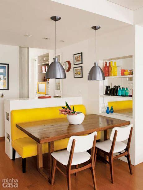 sofa no lugar da mesa de jantar 10 salas de jantar pequenas e descoladas casa br
