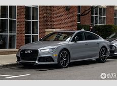 Audi RS7 Sportback 2015 Performance 24 March 2016